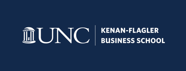 UNC Kenan-Flagler Business School logo white