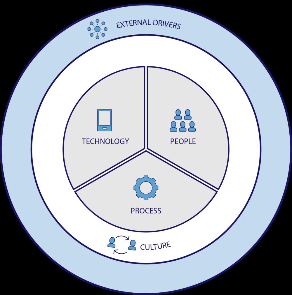 Business Management Circle Chart
