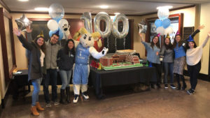 Students celebrate the School's Centennial