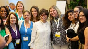 Valerie Jarrett and MBA@UNC alumni