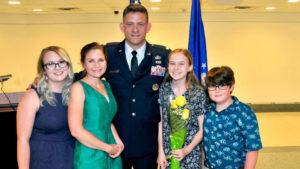 Dan Finkenstadt and family