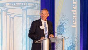 Dean Doug Shackleford of UNC Kenan-Flagler at 2019 Hall of Fame Awards