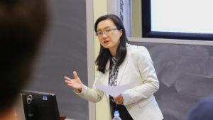 Professor Lauren Lu Of UNC Kenan-Flager