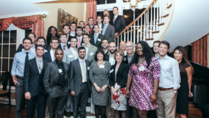 Whitnie Narcisse With Adams Apprenticeship Cohort at UNC Kenan-Flagler