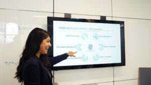 MBA Healthcare Student Giving Presentation UNC Kenan-Flagler