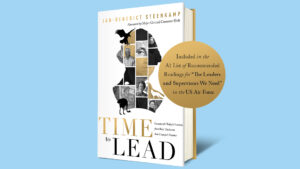 Cover Of Book Time To Lead By JB Steenkamp Of UNC Kenan-Flagler