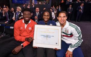 Brianna Pinto at FIFA World Cup
