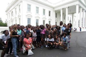 UNC Kenan-Flagler Business School Adams Apprenticeship - Camille McGirt - Healthy Girls Save the World visits DC