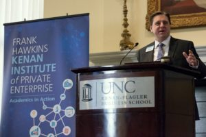 Kenan Institute Director Greg Brown speaks at the 2016 What's Next, America? Conference - UNC Kenan-Flagler Business School