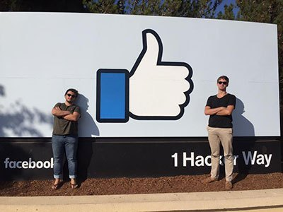 At Facebook in Silicon Valley