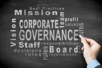 Corporate governance and a lot of other words relating to it