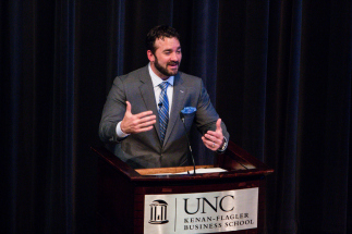 Jeff Saturday - UNC Kenan-Flagler